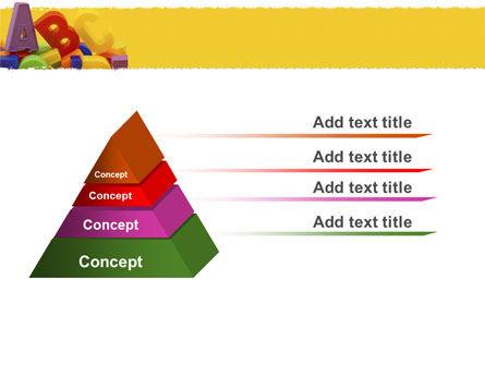 Alphabet PowerPoint Template, Slide 4, 05374, Education & Training — PoweredTemplate.com