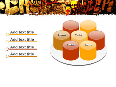Graffiti Zone PowerPoint Template Slide 12
