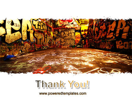 Graffiti Zone PowerPoint Template Slide 20