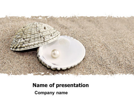 Pearl PowerPoint Template, 05378, Holiday/Special Occasion — PoweredTemplate.com