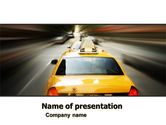 City Taxi PowerPoint Template#1