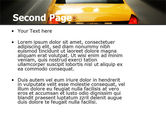 City Taxi PowerPoint Template#2