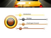 City Taxi PowerPoint Template#3