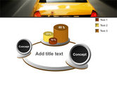City Taxi PowerPoint Template#6