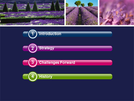 Lavender PowerPoint Template Slide 3