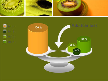 Kiwifruit PowerPoint Template Slide 10