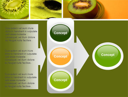 Kiwifruit PowerPoint Template Slide 11
