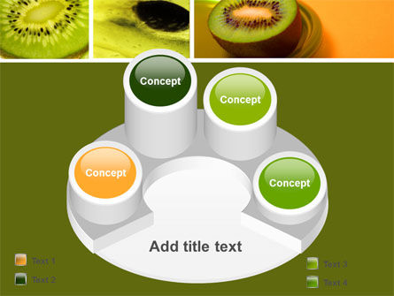 Kiwifruit PowerPoint Template Slide 12
