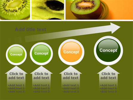 Kiwifruit PowerPoint Template Slide 13
