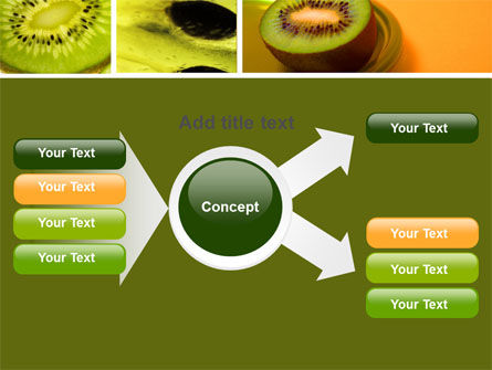 Kiwifruit PowerPoint Template Slide 14
