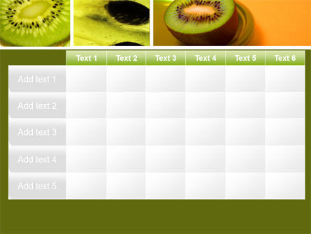 Kiwifruit PowerPoint Template Slide 15