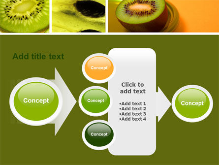 Kiwifruit PowerPoint Template Slide 17