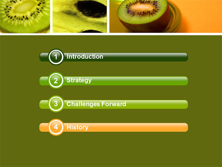 Kiwifruit PowerPoint Template Slide 3