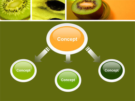 Kiwifruit PowerPoint Template Slide 4