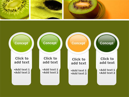 Kiwifruit PowerPoint Template Slide 5