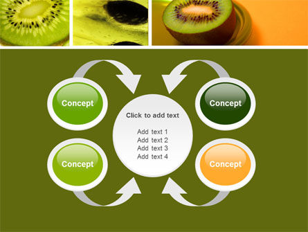 Kiwifruit PowerPoint Template Slide 6