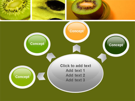 Kiwifruit PowerPoint Template Slide 7