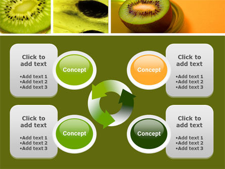 Kiwifruit PowerPoint Template Slide 9