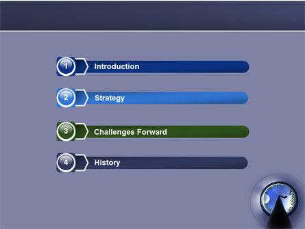 Golf Hole PowerPoint Template, Slide 3, 05383, Sports — PoweredTemplate.com