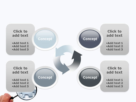 Detailed Searching PowerPoint Template Slide 9