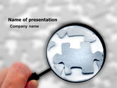 Consulting: Detailed Searching PowerPoint Template #05386