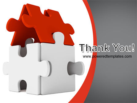 House Puzzle PowerPoint Template Slide 20