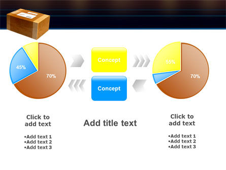 Package Delivery PowerPoint Template Slide 16