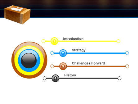 Package Delivery PowerPoint Template Slide 3