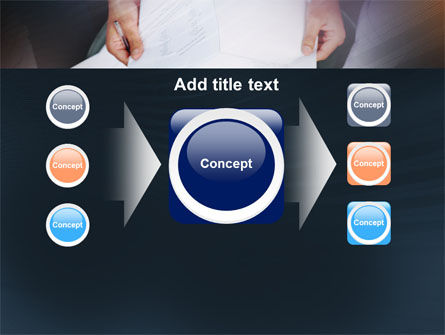 Working With Papers PowerPoint Template Slide 17