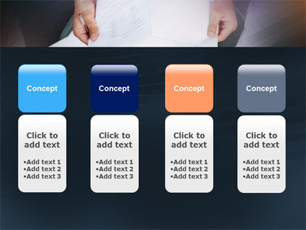 Working With Papers PowerPoint Template Slide 5