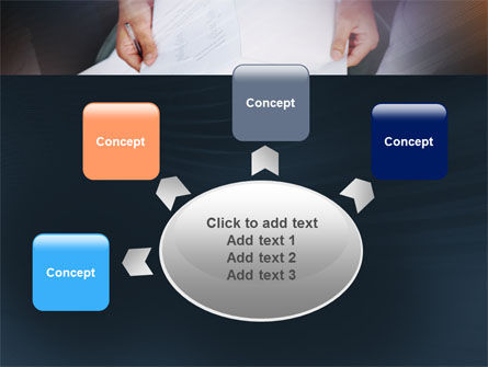 Working With Papers PowerPoint Template Slide 7