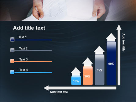 Working With Papers PowerPoint Template Slide 8