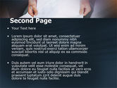 Working With Papers PowerPoint Template#2