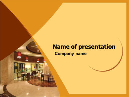 Hotel Restaurant PowerPoint Template
