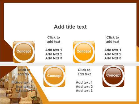 Hotel Restaurant PowerPoint Template Slide 18