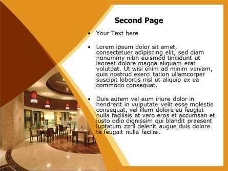 Hotel Restaurant PowerPoint Template Slide 2