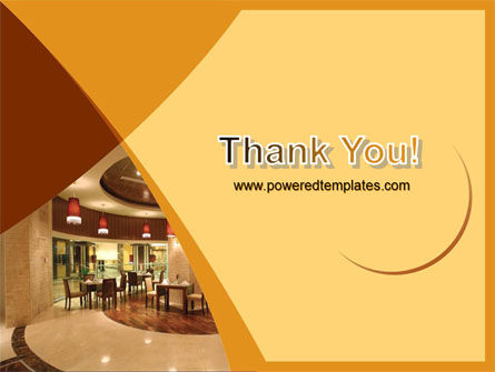 Hotel Restaurant PowerPoint Template Slide 20