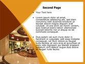 Hotel Restaurant PowerPoint Template#2