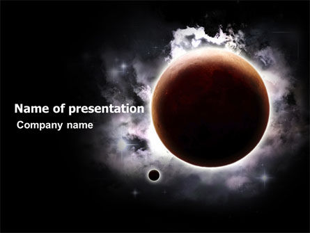 Nature & Environment: Planetary Science PowerPoint Template #05393