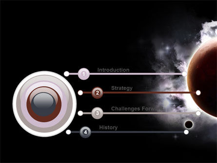 Planetary Science PowerPoint Template Slide 3