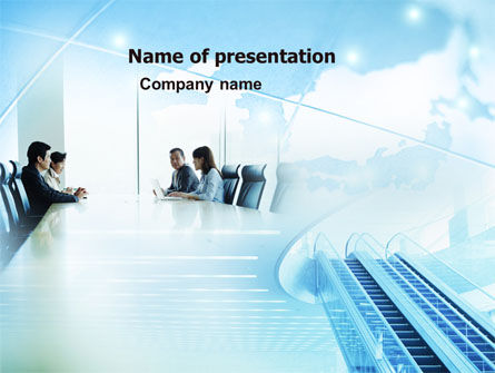 Business: Asian Company PowerPoint Template #05394