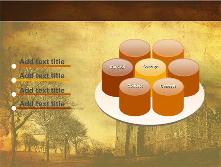 Castles And Fortress PowerPoint Template Slide 12