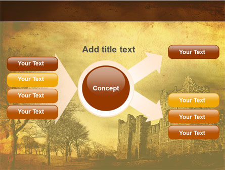 Castles And Fortress PowerPoint Template Slide 15