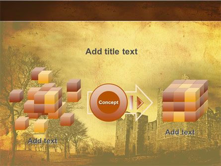Castles And Fortress PowerPoint Template Slide 17