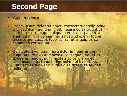 Castles And Fortress PowerPoint Template Slide 2