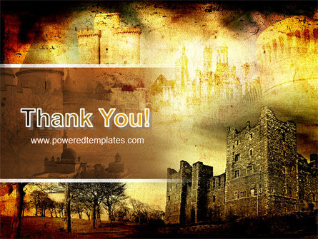 Castles And Fortress PowerPoint Template Slide 20