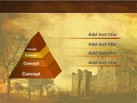 Castles And Fortress PowerPoint Template Slide 4