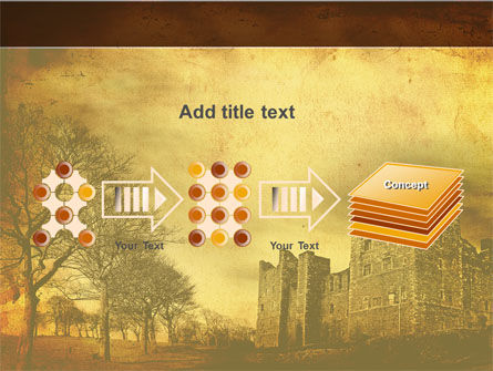 Castles And Fortress PowerPoint Template Slide 9