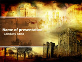 Education & Training: Castles And Fortress PowerPoint Template #05396