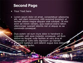 Night Photography PowerPoint Template#2